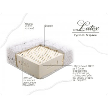 Στρώμα Linea Strom LATEX