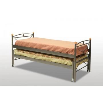 κρεβάτι μεταλλικό συρόμενο